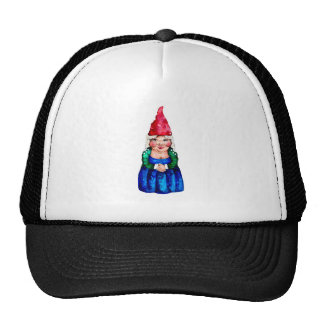 Mildred the gnome trucker hat