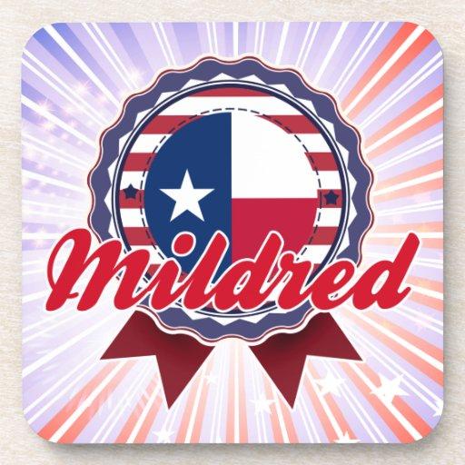 Mildred, TX Drink Coaster