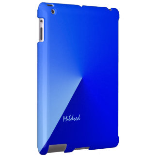 Mildred's ipad blue case