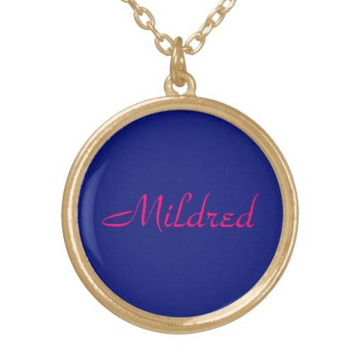 Mildred's jewelry