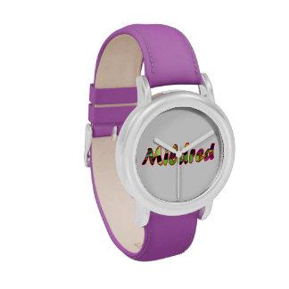 Mildred's purple watch