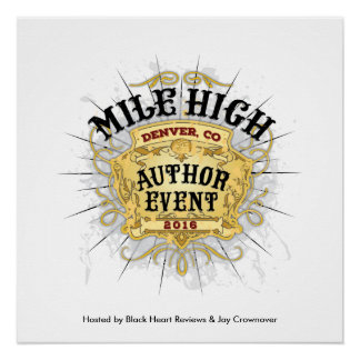 Mile High Author Event Poster