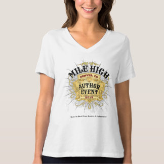 Mile High Author Event V-Neck Women's T-Shirt