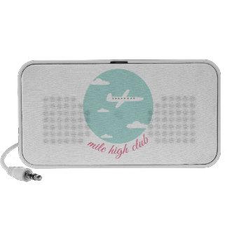 Mile High Club Laptop Speakers