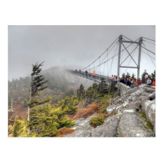 Mile High Swinging Bridge Postcard