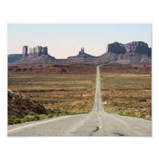 Mile Marker 13 Utah Highway Monument Valley Photo Print