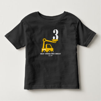miles construction 2 toddler T-Shirt