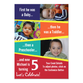 Milestone Birthday 11 Cm X 16 Cm Invitation Card