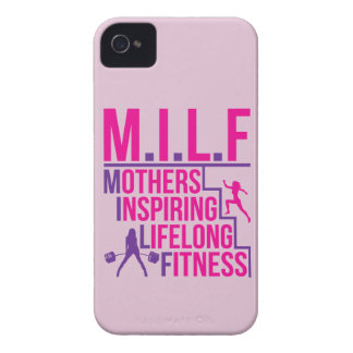MILF - Mothers Inspiring Lifelong Fitness iPhone 4 Case-Mate Cases