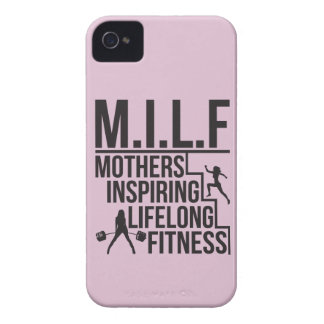 MILF - Mothers Inspiring Lifelong Fitness Case-Mate iPhone 4 Case
