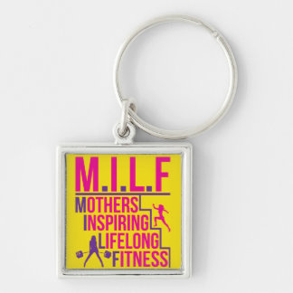 MILF - Mothers Inspiring Lifelong Fitness Keychains