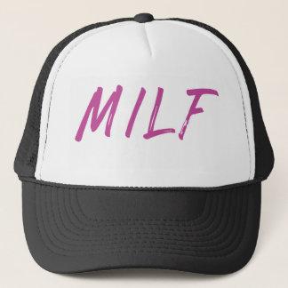 Milf Trucker Hat - Pink