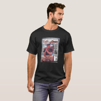 Miliano MisFit Men's Black T-Shirt