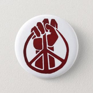 Militant for Peace 6 Cm Round Badge