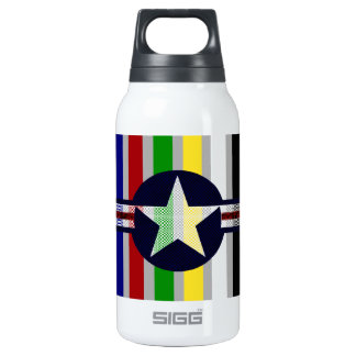 Military air corps roundel 0.3 litre insulated SIGG thermos water bottle