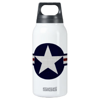 Military air corps roundel 0.3L insulated SIGG thermos water bottle