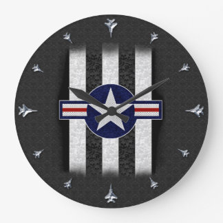 Military air corps roundel clock
