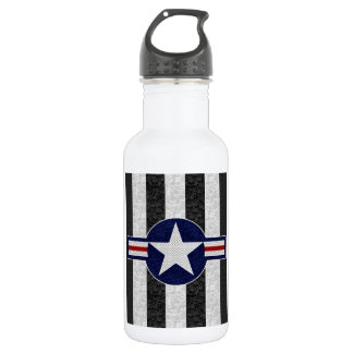 Military air corps roundel 532 ml water bottle