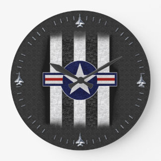Military air corps roundel wall clocks