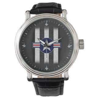 Military air corps roundel watches