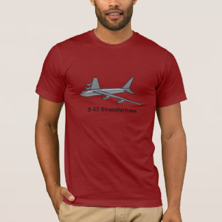 Military AirForce B-52 Bomber Aircraft In Flight T-Shirt