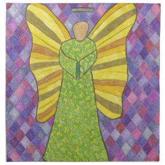 Military Angel Printed Napkin