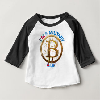 Military Bitcoin Baby Apparel Baby T-Shirt