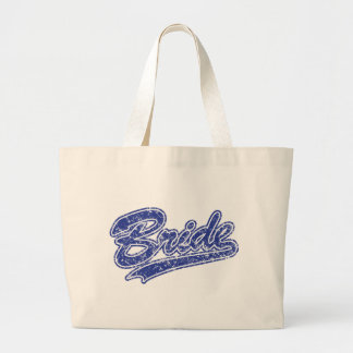 Military Blue Camouflage Bride Canvas Bags