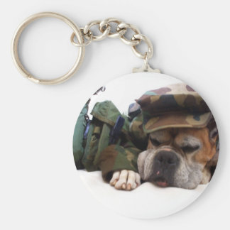 Military boxer keychain