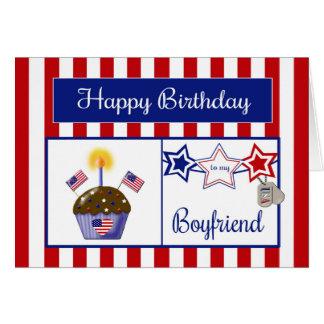 Military Boyfriend Birthday Card