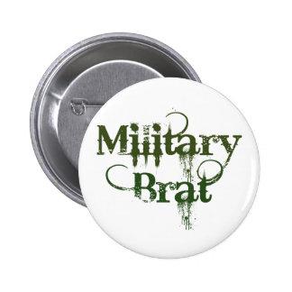 Military Brat Button