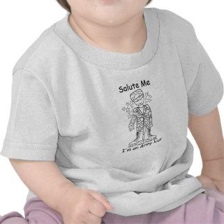 Military Brat(tm) Army Kid Infant T Shirts