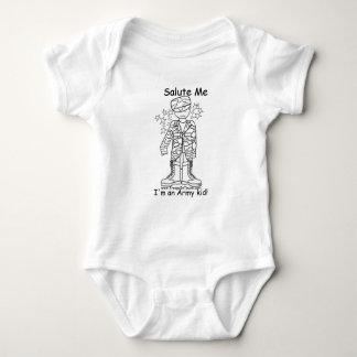 Military Brat(tm)Army Kid Onesy Shirt