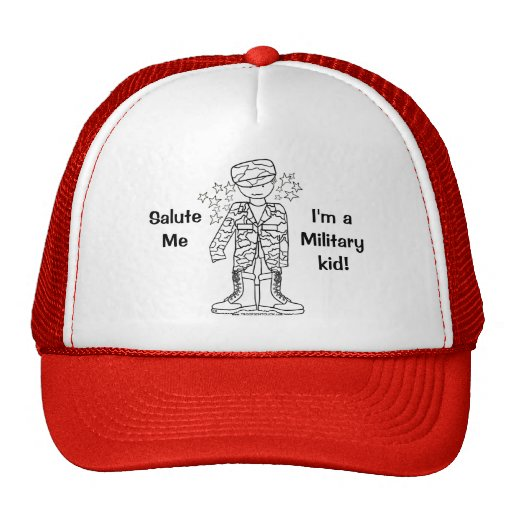 Military Brat(tm) Military Kid Hat