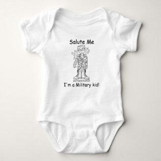 Military Brat(tm)Military Kid Onesy T-shirt