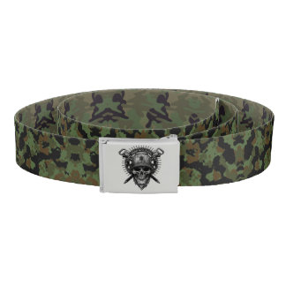 Military Camo Belt