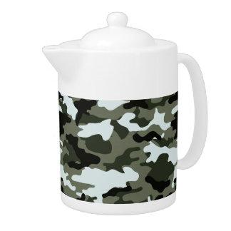 Military Camo Teapot