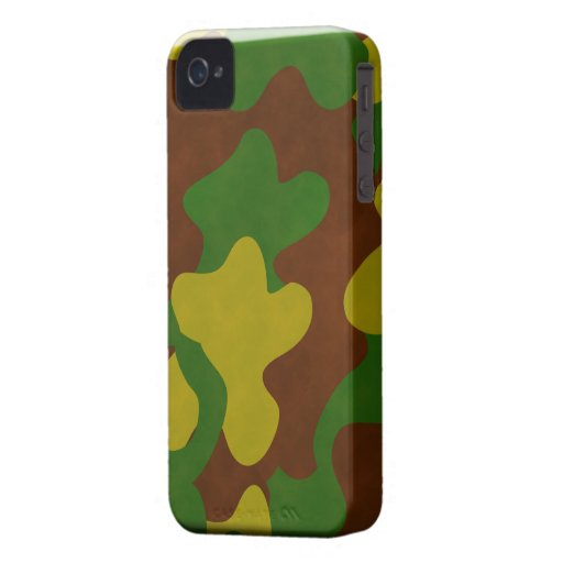 Military Camouflage Blackberry Bold Case