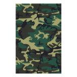 Military Camouflage Customised Stationery