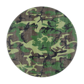 Military Camouflage Cutting Board