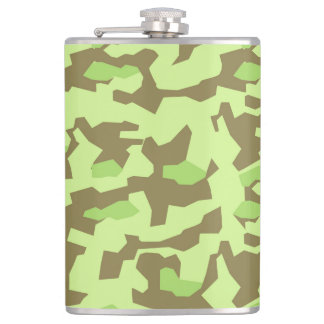 military camouflage hip flask