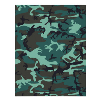 Military Camouflage Personalized Invitations
