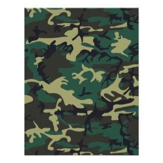 Military Camouflage Custom Invitation