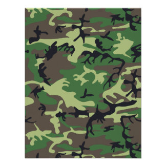 Military Camouflage Invite