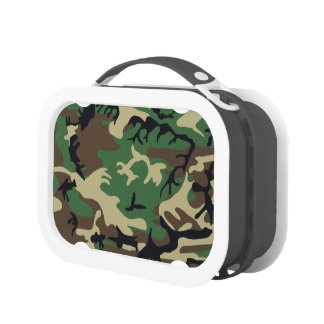 Military Camouflage Lunchbox