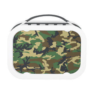 Military Camouflage Lunchboxes