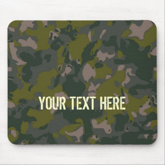 Military camouflage mouse pad