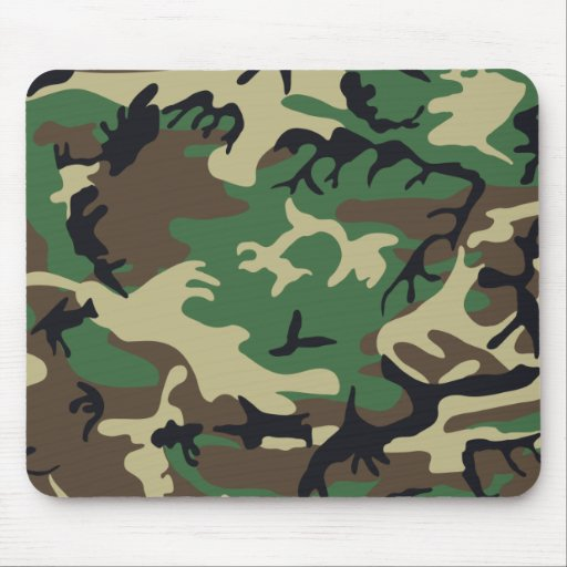 Military Camouflage Mousepad