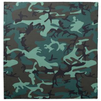Military Camouflage Napkins