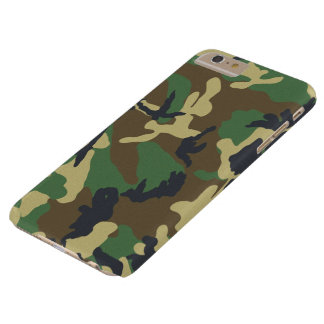 Military Camouflage Pattern Barely There iPhone 6 Plus Case